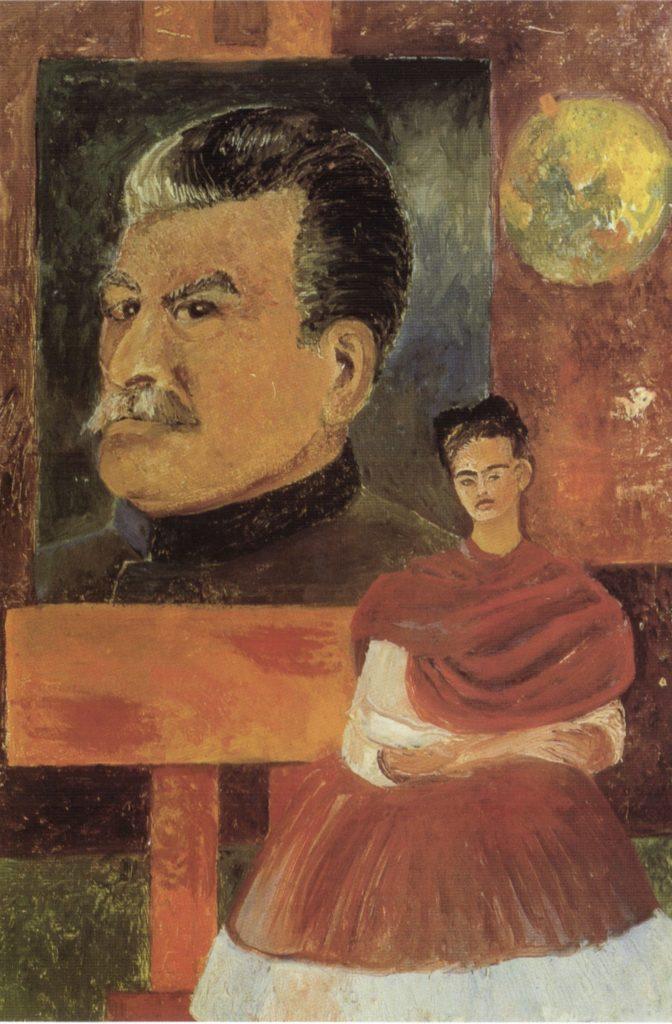 Autoportrait avec Staline de Frida Kahlo