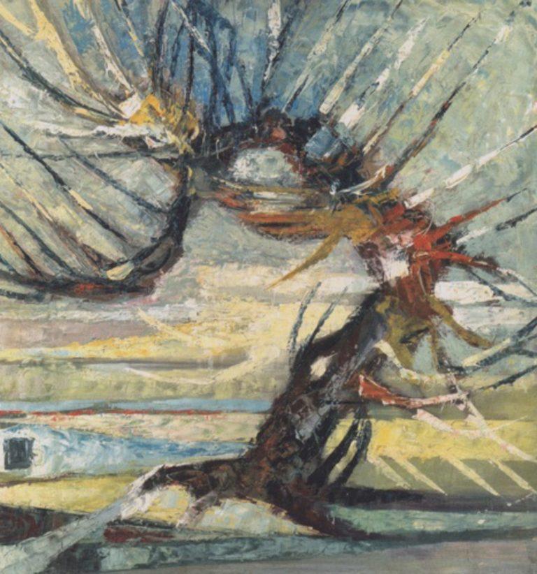 Un arbre par Otto Mueller