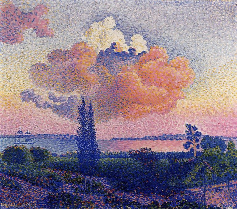 Le nuage rose d'Henri-Edmond Cross