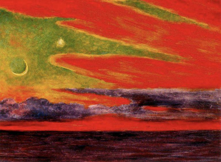 Crépuscule à Acapulco par Diego Rivera